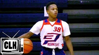 Johnathan McGriff INSANE HANDLES and VISION at CP3 Camp - 2019 McNamara Point Guard - CP3RS15