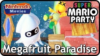 Super Mario Party: Megafruit Paradise (2 Players, 20 Turns, Master Difficulty)