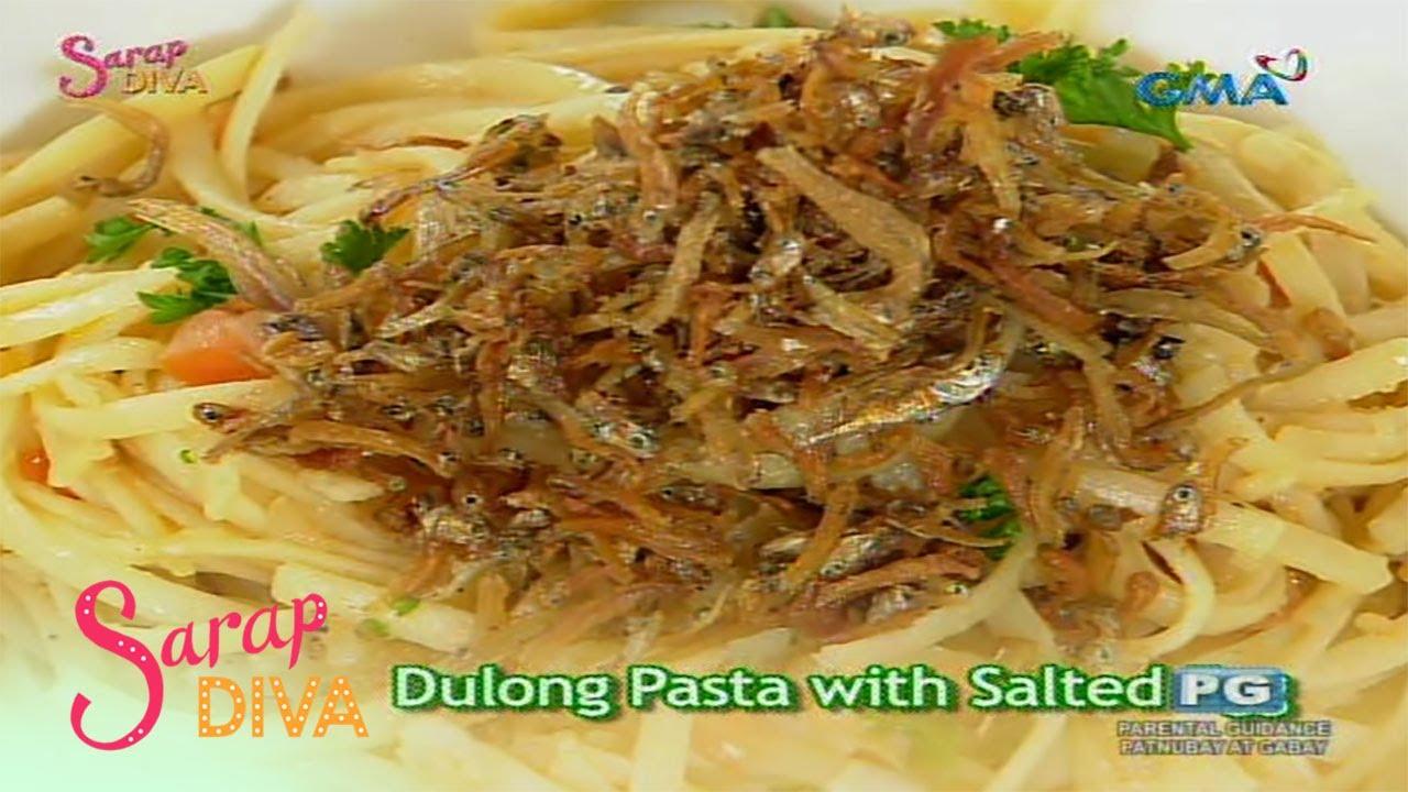 Sarap Diva: Dulong Pasta with Salted Egg by Betong Sumaya
