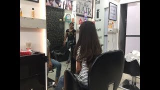 Girl Getting Long Layers Haircut (Cherrycupcake's Haircut )