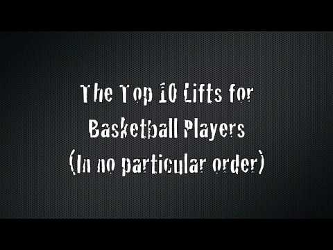 Basketball Weight Training - Top 10 Lifts For Basketball Players Image 1