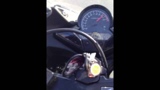Honda CBR 125 R 2013 - Fast Tries and Trip With Sister