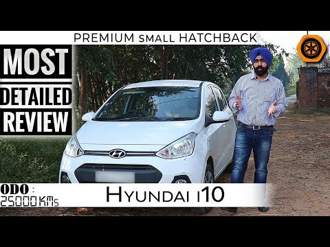 Grand i10 Petrol 2013 | Detailed Review | Premium Small Hatchback | Spare Wheel