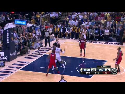 Washington Wizards vs Indiana Pacers Game 2 | May 7, 2014 | NBA Playoffs 2014
