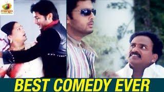 Best Comedy Scenes | Nitin and Venu Madhav Comedy | Mawali The Play Boy Film | Mango Comedy Scenes