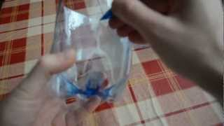 Box from plastic bottle - Bottle box - Creative recycling