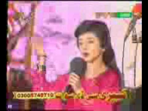 Nazia Iqbal Childhood Pashto Song Old video