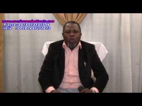 Un agent de Kanambe alias Kabila menace Bishop tshatumba. Tokobanga bango te