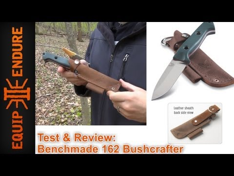 Benchmade 162 Bushcraft Sibert Test and Review by Equip 2 Endure