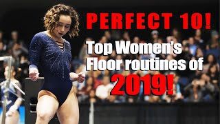 Top Women's Gymnastics Floor Routines of 2019   Katelyn Ohashi Perfect 10 Routine!!!
