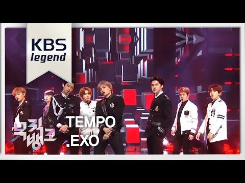 뮤직뱅크  Bank - TEMPO템포 - EXO엑소20181116