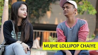 SRK Saying Mujhe Lollipop Chaiye   Oye It's Prank