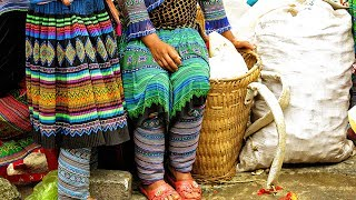 Meet the Hmong Tribes at Bac Ha Market Vietnam