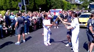 Olympic Torch Relay 2012 - Caitlin Chang