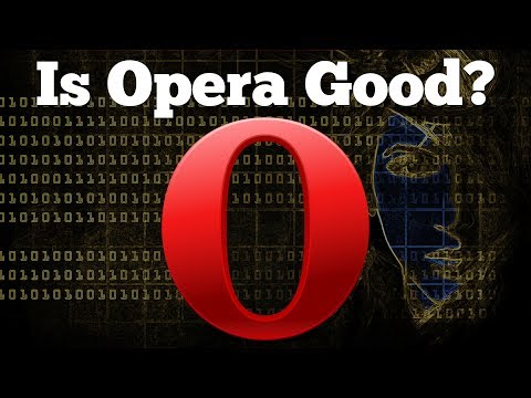 New Best Browser? | Opera 45 Web Browser Review 2017