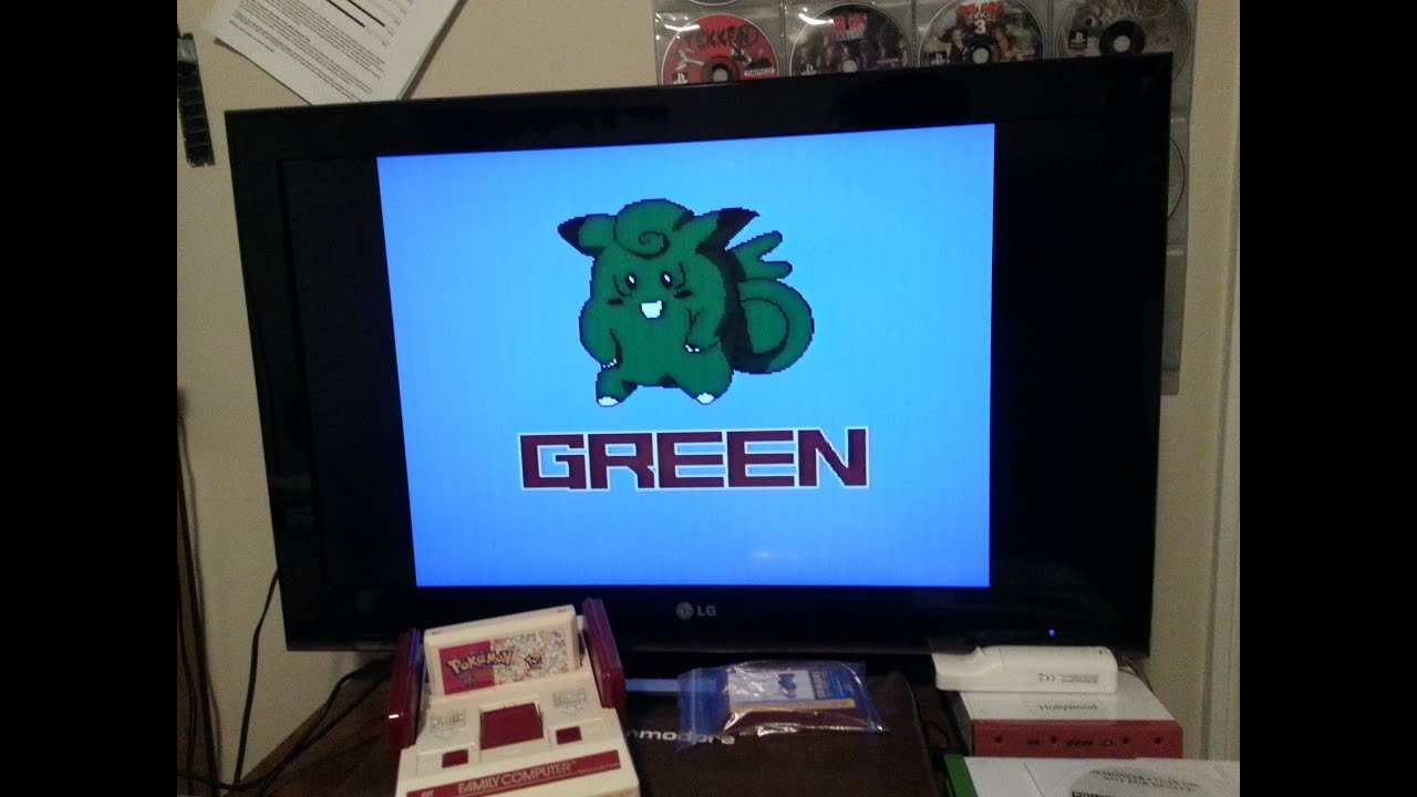 Bootleg Pokemon Games Bootleg Fun Pokemon Green For