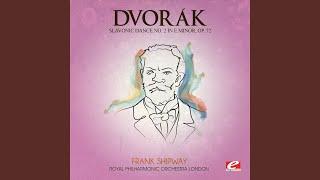 Slavonic Dance No 2 In E Minor Op 72 Starodávný