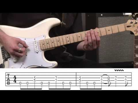 2 Minutes To Midnight Opening Riff Guitar Tab
