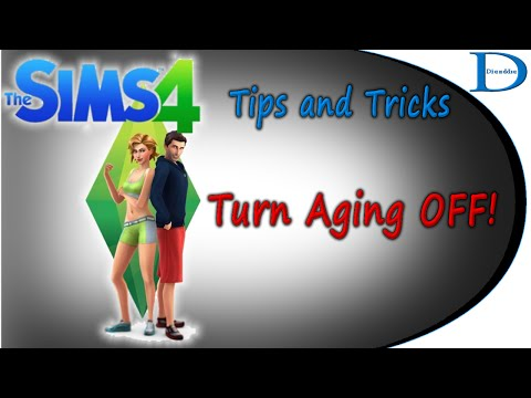 The Sims 4 Tips - Turn Aging Off!