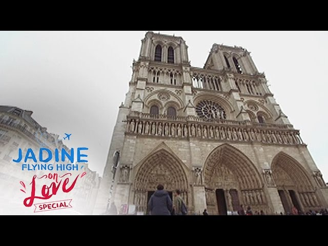 JaDine Flying High on Love: Notre Dame Cathedral in Paris