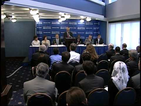 News Coverage of the U.S.-Iraq Business Initiative Meeting at the National Press Club (In Arabic)