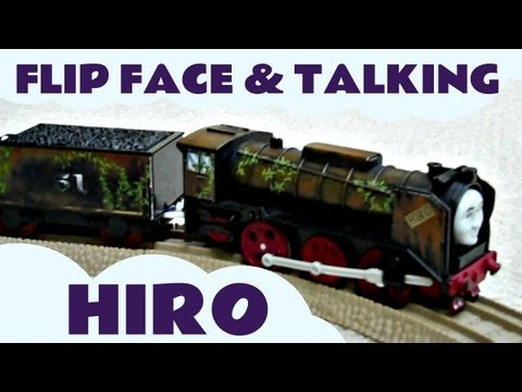 HIRO Talking Face Changing Thomas & Friends Trackmaster Kids Toy Train Set Thomas The Tank Engine