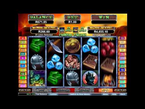 Goblin's Treasure Slot at Springbok Casino