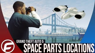 Grand Theft Auto 5 ALL Spaceship Parts Location Guide Part 2 Spaceship Part #1 GTAV GTA 5