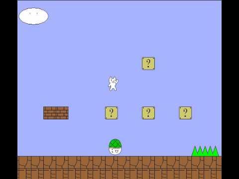 Cat Mario Level 1