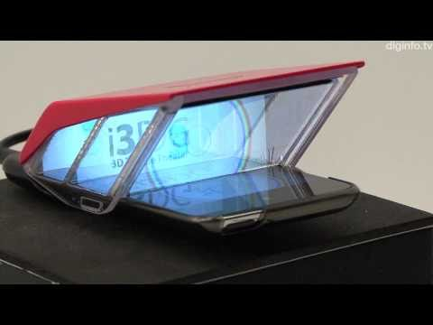 3D iPhone Display - i3DG #DigInfo