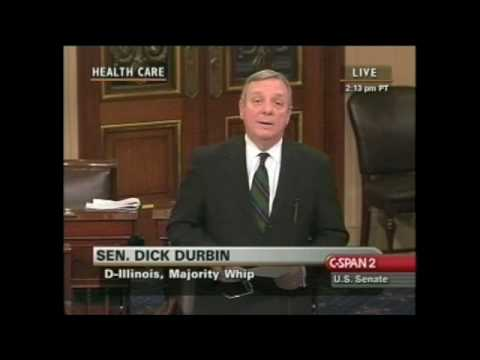 Dick Durbin calls out coward Tom Coburn