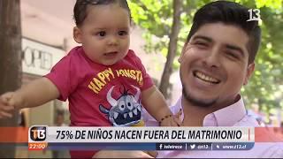 Mayoría de niños nacen fuera del matrimonio en Chile