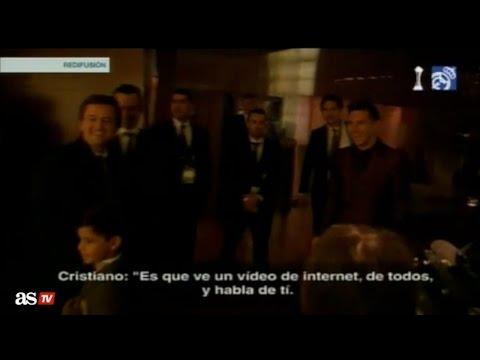 El hijo de Cristiano Ronaldo muestra su admiración por Messi