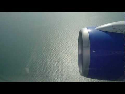 Thomas Cook Airlines landing at Banjul International Airport (The Gambia)