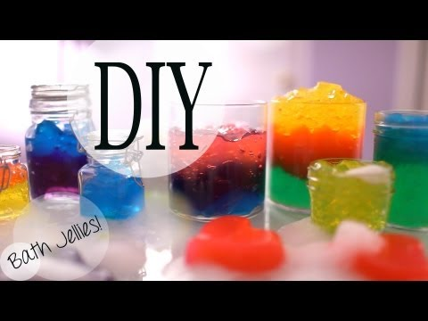 DIY Fun Bath Jellies inspired by Lush