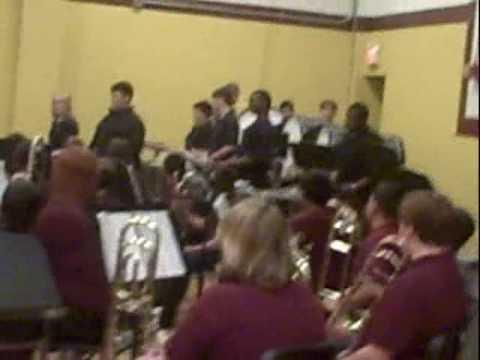 Lott Middle School  Drum Line