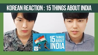 15 Things Korean Dost Didn't know About India | Reaction!