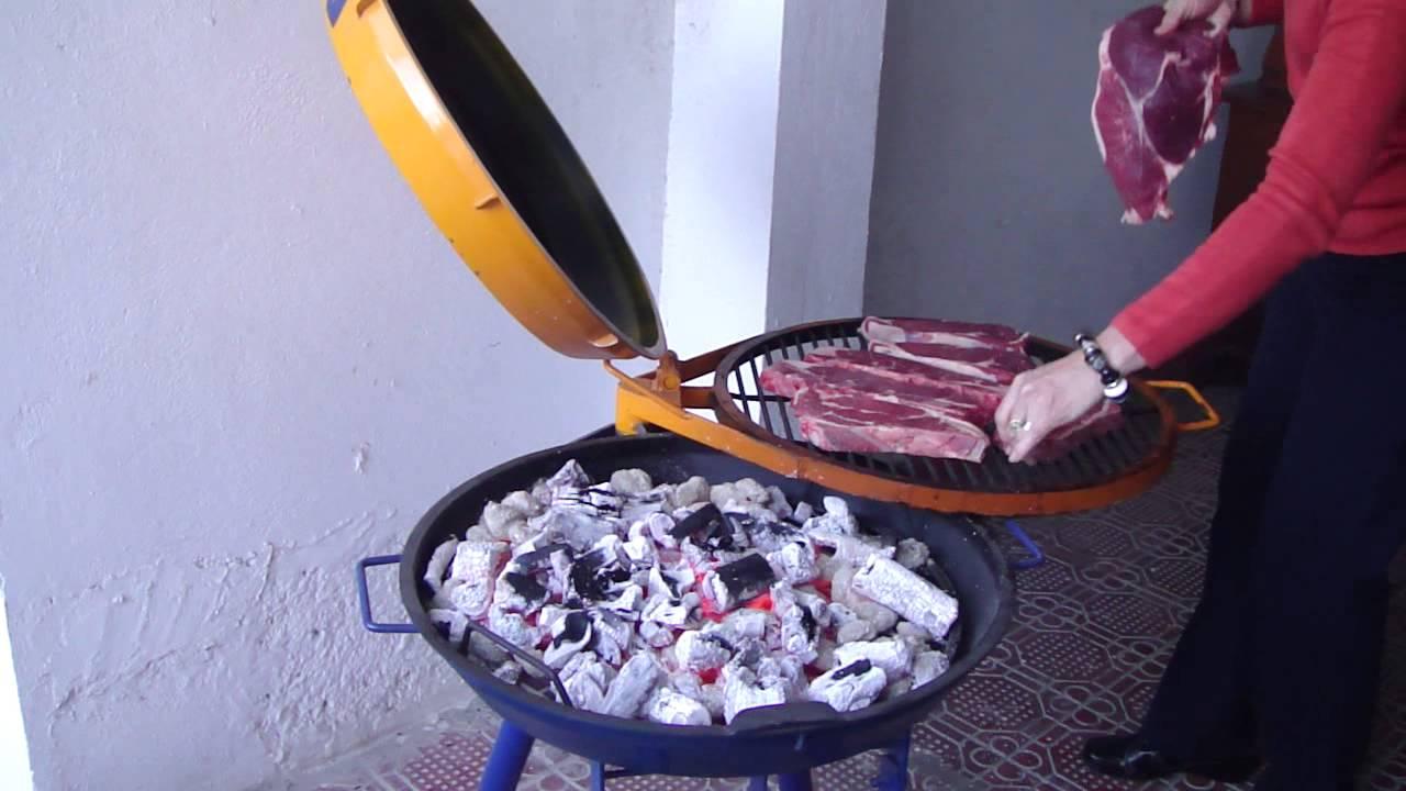Asador de carne spartako modelo 20 youtube - Como hacer un asador ...