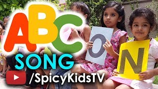 ABC SONG | ABC Songs for Children | English Rhymes | Spicy Kids TV