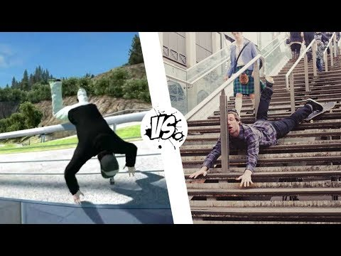 Skate 3 | Игры vs. Реальная жизнь #3 | WDF 70