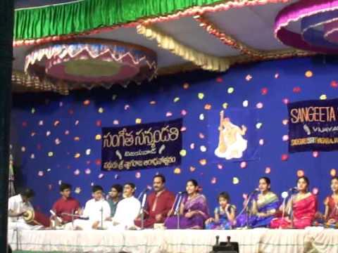 Tyagaraja Keerthanalu 3 by Meghana Killampalli