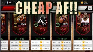 DIRT CHEAP AUCTION HOUSE! INSANELY CHEAP NBA LIVE MOBILE ASIA!