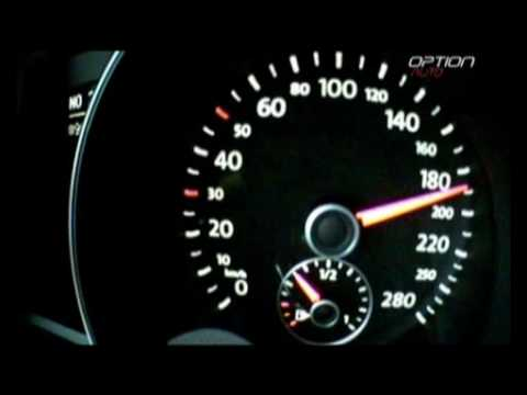 240 km/h en Volkswagen Golf GTI (Option Auto)