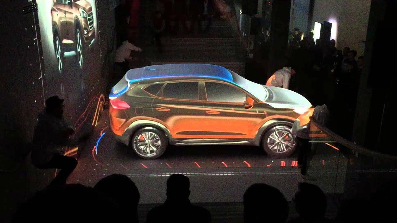 Hyundai Tucson 2015 - премьера в Москве