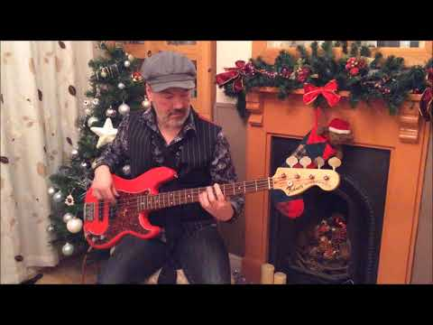 Christmas Wrapping Bass Playalong