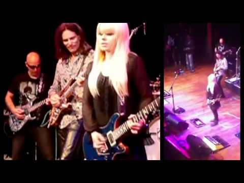 Orianthi Guitar Solos from Cover Songs (Jimi Hendrix&more)&New Songs (Alice Cooper&more) 2011