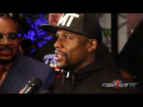 Floyd Mayweather says he cant make 160 for Golovkin fight; Talks Cotto vs. Canelo