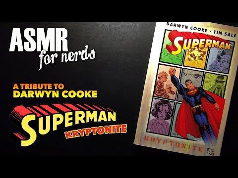 Superman by Darwyn Cooke ASMR #1 - ASMR Comic Book Reading