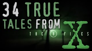 34 Strange True Tales From The X-Files | Bigfoot, Alien, Glitch in the Matrix Stories