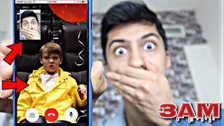 DO NOT FACETIME GEORGIE FROM IT MOVIE AT 3AM!! *OMG HE ACTUALLY ANSWERED*